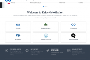Keios OctoberMarket preview!