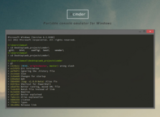 Software Recommendation: cmder