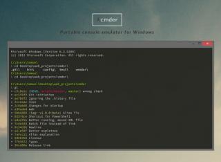 Software Recommendation: cmder