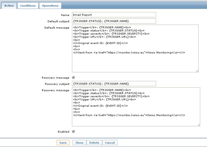 HTML E-mails from Zabbix | Viamage Blog